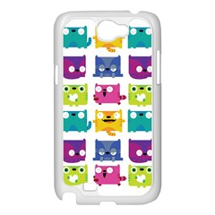 Cats Samsung Galaxy Note 2 Case (White) by Contest1771913