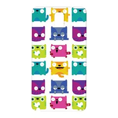 Cats Samsung Galaxy Note 3 N9005 Hardshell Back Case by Contest1771913