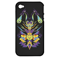 Mistress Of All Evil Apple Iphone 4/4s Hardshell Case (pc+silicone) by Contest1886839
