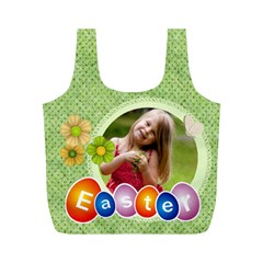 Eater By Easter   Full Print Recycle Bag (m)   1pydipf5bv78   Www Artscow Com Back