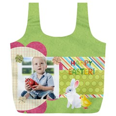 Easter By Easter   Full Print Recycle Bag (xl)   3sxlrtfw2ca6   Www Artscow Com Back