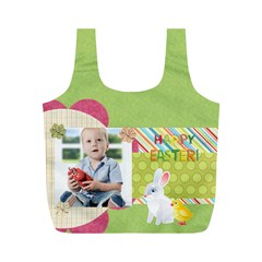 Eater By Easter   Full Print Recycle Bag (m)   Dgudjd1wzpqa   Www Artscow Com Front