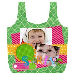 Easter By Easter   Full Print Recycle Bag (xl)   Hqbewjnwrjyq   Www Artscow Com Front