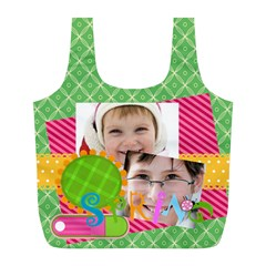 Easter By Easter   Full Print Recycle Bag (l)   Kve54ndly3pt   Www Artscow Com Front