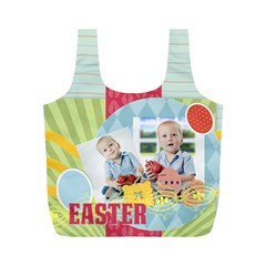 Eater By Easter   Full Print Recycle Bag (m)   Xoxyuzjt5nmx   Www Artscow Com Front