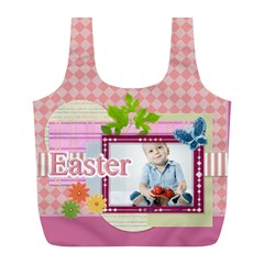 Easter By Easter   Full Print Recycle Bag (l)   Xvnle4mjm2st   Www Artscow Com Back