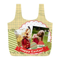 Easter By Easter   Full Print Recycle Bag (l)   8maxnp2me6m4   Www Artscow Com Back