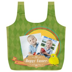 Easter By Easter   Full Print Recycle Bag (xl)   Muzr89vazufx   Www Artscow Com Front