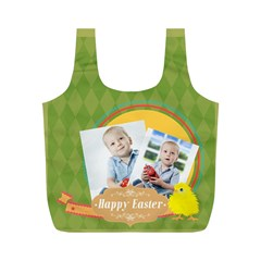 Eater By Easter   Full Print Recycle Bag (m)   C9ujvx9c1a8k   Www Artscow Com Back