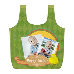 Easter By Easter   Full Print Recycle Bag (l)   Rmdiczbiu190   Www Artscow Com Back