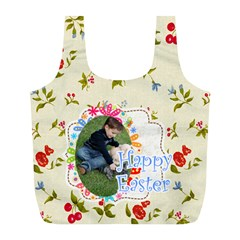 Easter By Easter   Full Print Recycle Bag (l)   4ypm23mjh486   Www Artscow Com Front