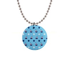 Summer Sailing Button Necklace by StuffOrSomething