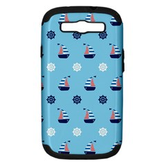 Summer Sailing Samsung Galaxy S Iii Hardshell Case (pc+silicone) by StuffOrSomething
