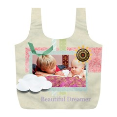 Baby By Baby   Full Print Recycle Bag (l)   30lzf1mye074   Www Artscow Com Front
