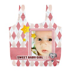 Baby By Baby   Full Print Recycle Bag (l)   4u62hdmu1lys   Www Artscow Com Front