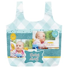 Baby By Baby   Full Print Recycle Bag (xl)   Sy9e61nxxm53   Www Artscow Com Back