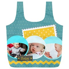 Baby By Baby   Full Print Recycle Bag (xl)   Y04ic1bojvst   Www Artscow Com Front