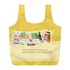 Baby By Baby   Full Print Recycle Bag (l)   Fmyoykwjdqgg   Www Artscow Com Front