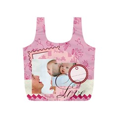 Baby By Baby   Full Print Recycle Bag (s)   Mm8l17vyeanb   Www Artscow Com Front