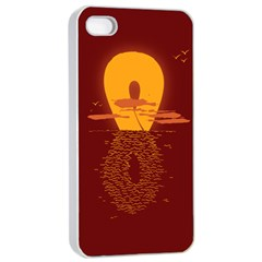 Endless Summer, Infinite Sun Apple Iphone 4/4s Seamless Case (white) by Contest1893972