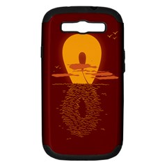 Endless Summer, Infinite Sun Samsung Galaxy S Iii Hardshell Case (pc+silicone) by Contest1893972