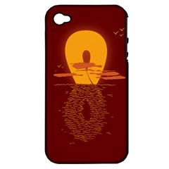 Endless Summer, Infinite Sun Apple Iphone 4/4s Hardshell Case (pc+silicone) by Contest1893972