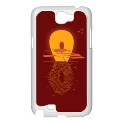 Endless Summer, Infinite Sun Samsung Galaxy Note 2 Case (White) by Contest1893972