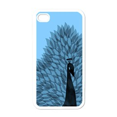 Flaunting Feathers Apple Iphone 4 Case (white) by Contest1893972