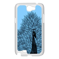 Flaunting Feathers Samsung Galaxy Note 2 Case (White) by Contest1893972
