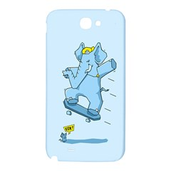 The Ollie-phant Samsung Note 2 N7100 Hardshell Back Case by Contest1893972