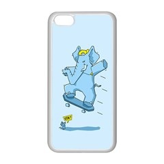 The Ollie-phant Apple iPhone 5C Seamless Case (White) by Contest1893972