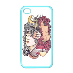 KISS ! Apple iPhone 4 Case (Color) by Contest1731890