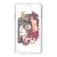 KISS ! Samsung Galaxy Note 3 N9005 Case (White) by Contest1731890