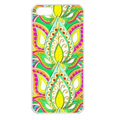 Lotus Apple Iphone 5 Seamless Case (white) by Contest1720187
