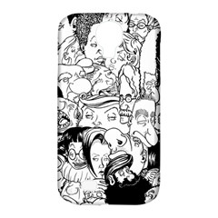 Faces In Places Samsung Galaxy S4 Classic Hardshell Case (pc+silicone) by Contest1894109