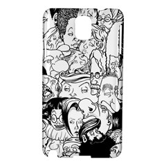 Faces In Places Samsung Galaxy Note 3 N9005 Hardshell Case by Contest1894109