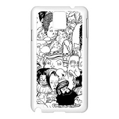Faces In Places Samsung Galaxy Note 3 N9005 Case (white) by Contest1894109