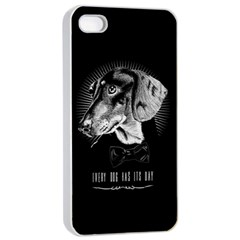 Every Dog Has Its Day Apple Iphone 4/4s Seamless Case (white) by Contest1761904