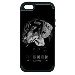 Every Dog Has Its Day Apple Iphone 5 Hardshell Case (pc+silicone) by Contest1761904