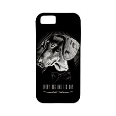 Every Dog Has Its Day Apple Iphone 5 Classic Hardshell Case (pc+silicone) by Contest1761904