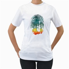 A Discovery in the Forest Women s T-Shirt (White)  by Contest1888822