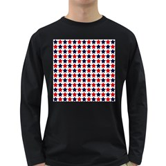 Patriot Stars Men s Long Sleeve T Shirt (dark Colored) by StuffOrSomething