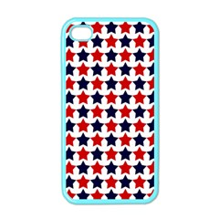 Patriot Stars Apple Iphone 4 Case (color) by StuffOrSomething