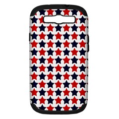 Patriot Stars Samsung Galaxy S Iii Hardshell Case (pc+silicone) by StuffOrSomething