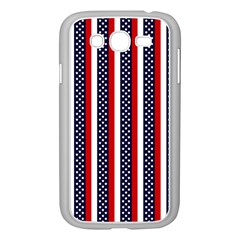 Patriot Stripes Samsung Galaxy Grand Duos I9082 Case (white) by StuffOrSomething
