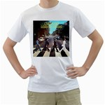 The Beatles - Men s T-Shirt (White)