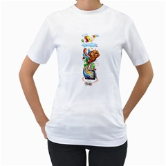 Game Time Women s T Shirt (white)  by Contest1894109