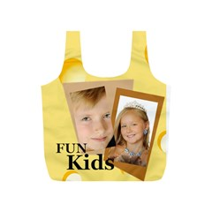 Fun Kids By Kids   Full Print Recycle Bag (s)   Ng916kx36lao   Www Artscow Com Back
