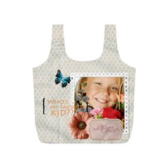 Fun Kids By Kids   Full Print Recycle Bag (s)   Aghou2yivbvl   Www Artscow Com Front