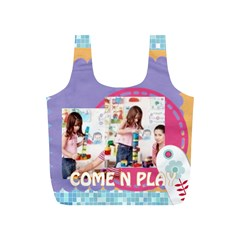 Fun Kids By Kids   Full Print Recycle Bag (s)   S7a2j9c6tq6d   Www Artscow Com Front